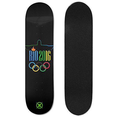 X-sports 2016 Brazil Rio Olympics Summer Sports Meeting Ultimate Sports Double Slide Skateboard Deck / Board