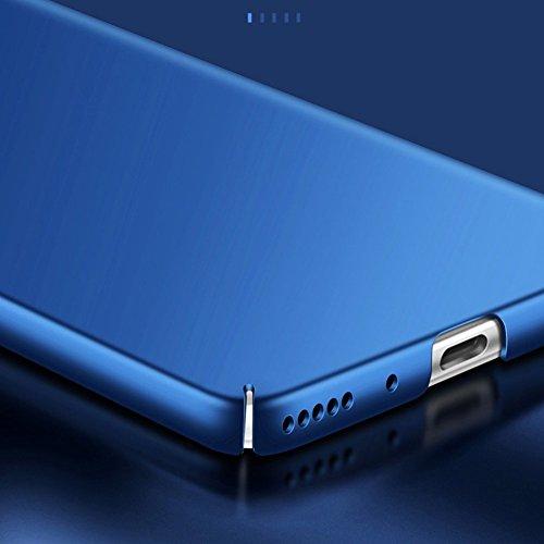SMTR Huawei Honor View 10 Funda, Calidad Premium Cubierta Delgado Caso de PC Hard Gel Funda Protective Case Cover para Huawei Honor View 10 -Azul Azul