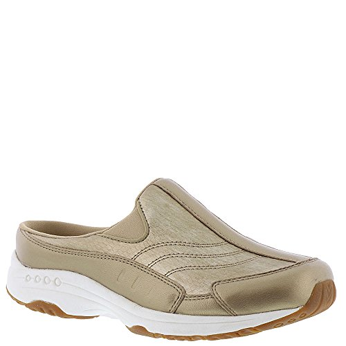 Easy Spirit Women's Traveltime Mule Gold Muted