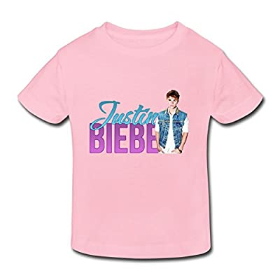 Ambom Justin Bieber Little Boys Girls Short Sleeve T Shirt For Toddlers