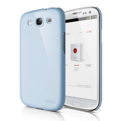 se for Verizon/AT&T/T-Mobile/Sprint Samsung Galaxy S3 - Eco Pack - Glossy Cotton Candy Blue ()