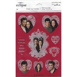 Twilight Eclipse Sticker Sheet (Foil & Gems)