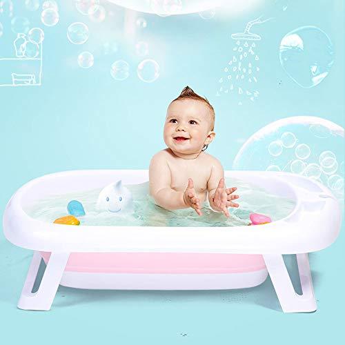 Baby Tub Baby Tub Can Sit Lie Newborn Supplies Collapsible Children Bath ()