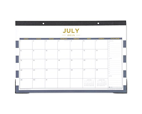 Day Designer for Blue Sky 2018-2019 Academic Year Monthly Desk Pad Calendar, 17