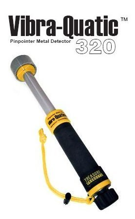 Vibra quatic 320 Treasure Products Pinpointer Detector de metales subaqueo 30 Mt: Amazon.es: Deportes y aire libre