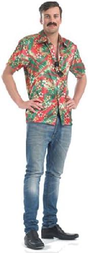 Camisa hawaiana - disfraces para adultos : Amazon.es ...