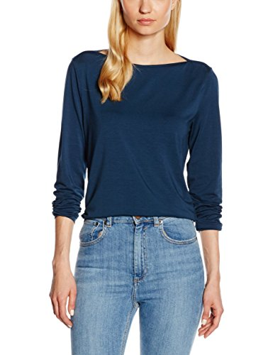 HotSquash Easy Elegance, Camiseta sin Mangas para Mujer Blue (Woodland Teal)