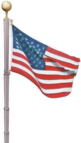Ezpole Flagpoles Liberty Flagpole Kit, 21-Feet by EZ Pole