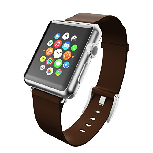 Incipio Leather - Incipio Apple Watch Premium Leather Watchband - 42mm - Espresso