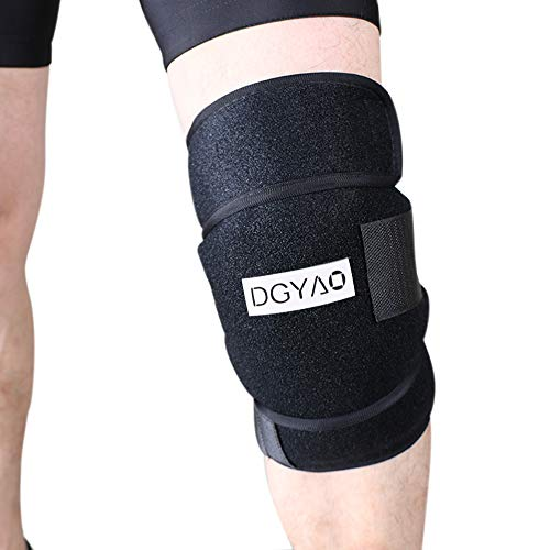 Reusable Gel Ice Pack Wrap Knee Elbow Hot Cold Therapy Microwavable Heating Instant First Aid Support Brace Adjustable Compression Sleeve Pain Relief Sport Injurious Bursitis Rheumatoid Arthritis by DGYAO (Image #7)