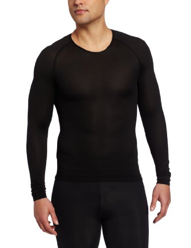 Gore Bike Wear Men's Base Layer Long Shirt (Black, Large)