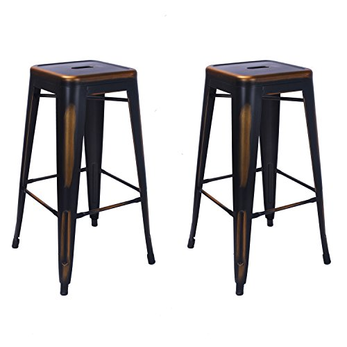 Oval Set Bar Stool - 7
