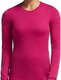 Bodyfit 260g Thermal Merino Wool Cherub Pink Women's Medium Tech Crew Neck Top