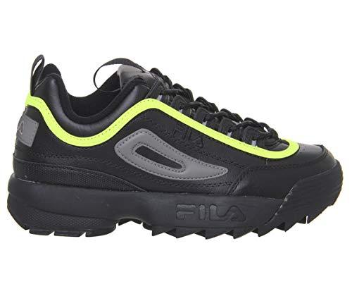 Ii Mujer Zapatillas Disruptor Yellow Black Blanco Fila Premium qBwtg6g