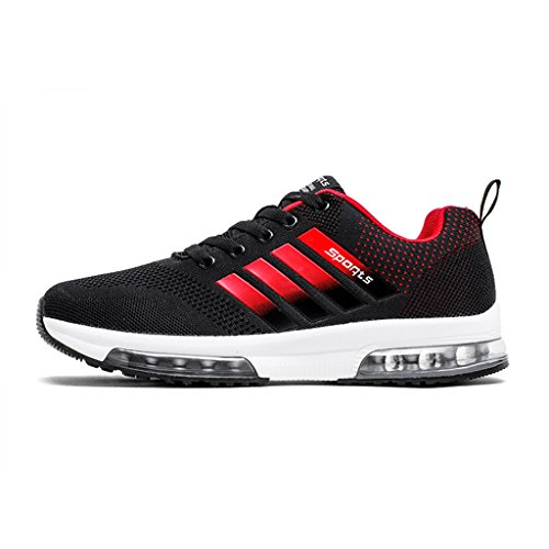 ZanYeing Herren Frühling Sommer Schuhe Ultra Leichte Straßenlaufschuhe Rutschfeste Sportschuhe Gym Laufschuhe Junge Sneakers Atmungsaktiv Air Running Shoes wGPfn0G3Y