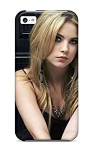 Iphone 5c Hard Back With Bumper Silicone Gel Tpu Case Cover Ashley Benson Celebrities