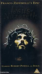 Amazon Com Jesus Of Nazareth Vhs Robert Powell Olivia