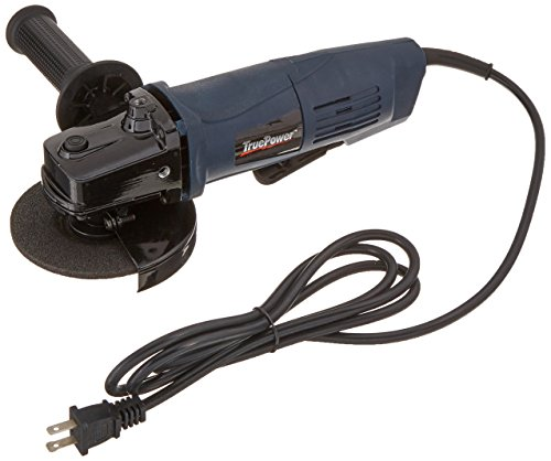 Shop-Vac TruePower 193 4.5-Inch Angle Grinder with Paddle...