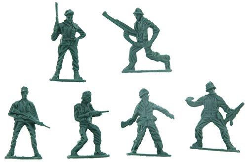"""Plastic Army Men - 2"""" Toy Soldier Figures - 100 Pcs"""