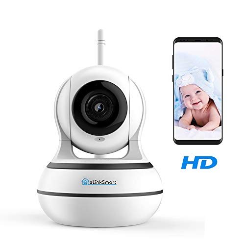 WiFi Camera eLinkSmart Home Security IP Camera Pan Tilt Two Way Audio  Wireless Baby Monitor 960P HD Video Recording Night Vision Motion Detection