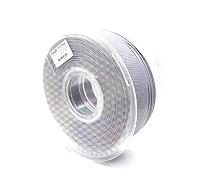 Plas3D PLA Filament Glitter Gray 1.75mm 1Kg, Raise3D Certified 3D Printer Filament