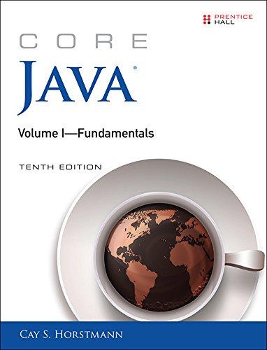 Series Core (Core Java Volume I--Fundamentals: 1 (Core Series))