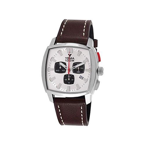 Reloj yema Landgraf hombre soleillé Silver y contadores negros - ymhf1457 - Idea regalo Noel - en Promo: Amazon.es: Relojes