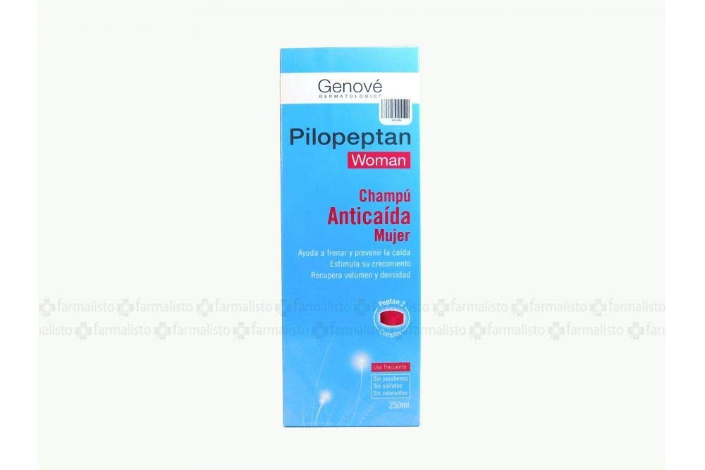 Amazon.com: Genové Pilopeptan for Woman 250ml - Hair Regrowth Treatment - Anti-Hair Loss Shampoo - Rich In Nutrients - Spain: Beauty