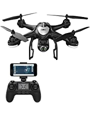 Potensic 1 T18 FPV RC Drone Live Video y GPS Retorno Home Quadcopter con Ajustable Gran Angular 1080P HD cámara WiFi, 16 años