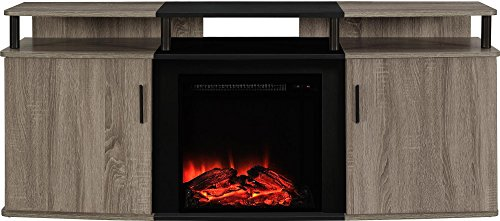 Fireplace Electric Tv Lift - Ameriwood Home Carson Electric Fireplace TV Console for TVs up to 70
