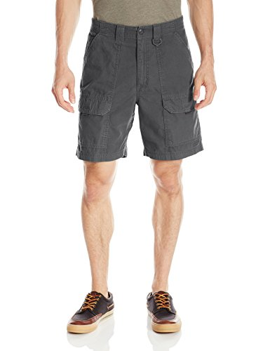 Wrangler Men's Authentics Utility Hiker Short, Anthracite, 38