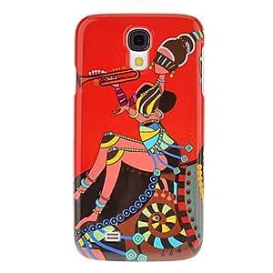conseguir Patrón Chica Piping protector duro Volver Funda para el Samsung Galaxy S4 i9500