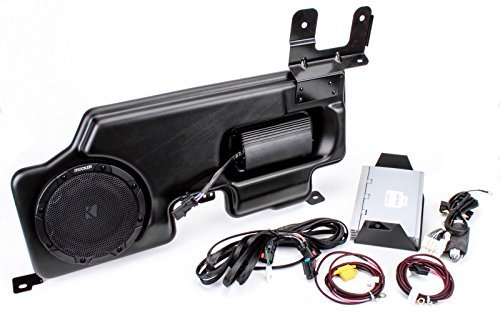 Kicker PF150SC15 PowerStage Amp & Powered Sub Upgrade for 2015 Ford F-150 Super Cab/Crew w/ MyFord - Home Kicker Subwoofers Audio
