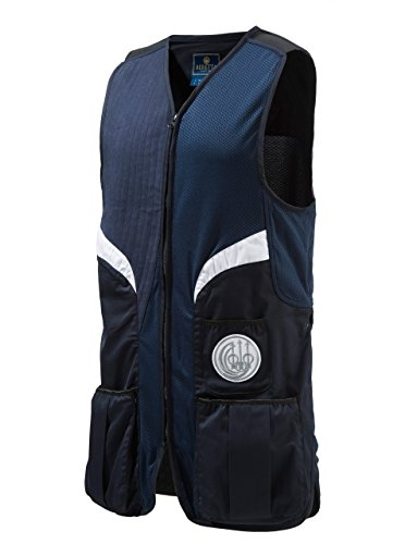 Beretta BEGT112T11300530M Men's Competition Shooting Vest, Navy, Medium Beretta Slide