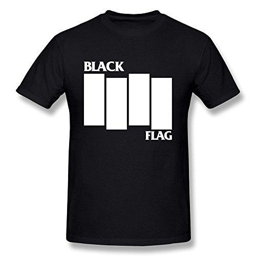 Mcstuffins Costumes Family Doc (M07H Men's Tee Shirt Black Punk Flag Everything Went Black Black Size)