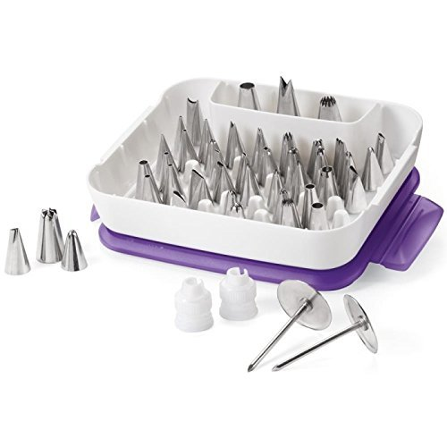 Wilton Master Decorating Tip Set, 55-Pc