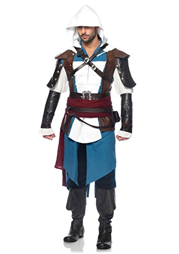 Leg Avenue Men's Assassin's Creed Edward Costume -