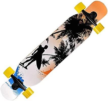 GDYYZYQ Profesional Completo Longboard Skateboard Street ...