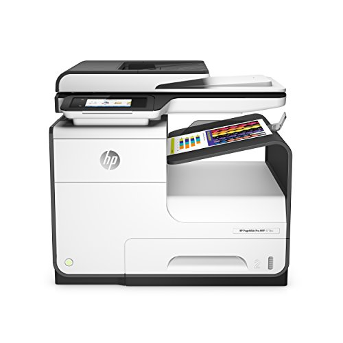 HP PageWide Pro 477dw Color Multifunction Business Printer with Wireless & Duplex Printing (D3Q20A) (Color Auto Duplex Printer Laser)
