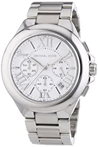 Michael Kors MK5719 Women's Chronograph Camille Stainless Steel Bracelet Silver Watch