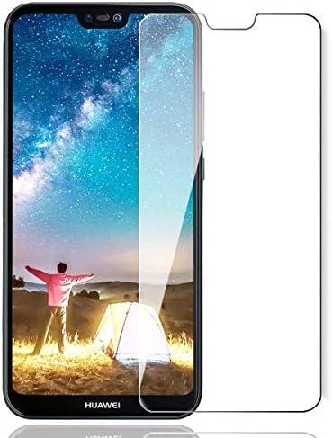 Ultra R/ésistant Sans Traces de Doigts 9H Duret/é Protection en Verre Tremp/é /Écran pour Huawei P20 The Grafu Verre Tremp/é pour Huawei P20 1 Pi/èces