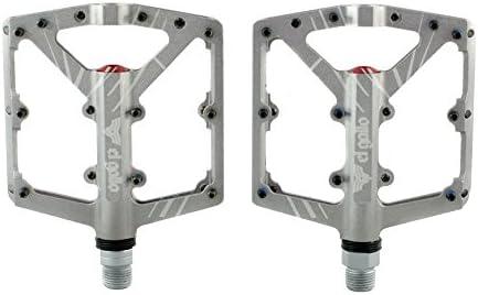 El Gallo Components EVOII - Pedales para Bicicleta, Color Gris ...