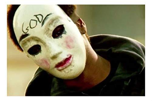 The Purge MASK Movie Anarchy Horror mask Killer Halloween Purge Cross Mask Costume ()