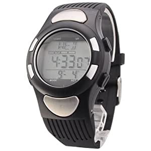Strapless Heart Rate Wristwatch with LCD Monitor/Clock/Calorie Counter/Stopwatch/WR 30M
