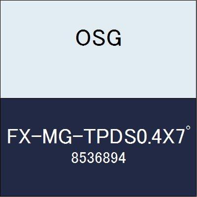 OSG エンドミル FX-MG-TPDS0.4X7゚ 商品番号 8536894