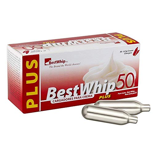 Best Whip PLUS 400 (8x50) N2O 8g size whip cream charger - 8 boxes of 50 BW+