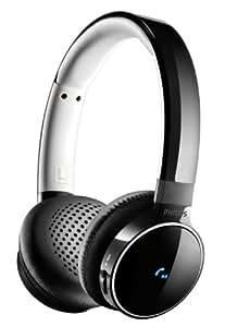 Philips SHB9150BK/00 - Auriculares de diadema abiertos, Bluetooth, NFC, negro