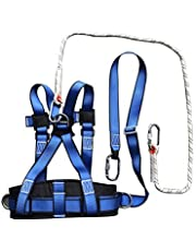 Safety Harness, Half Body Seat Belt, Alloy Steel Accessories With Rescue Rope, For Ironworker,Scaffolding,Construction