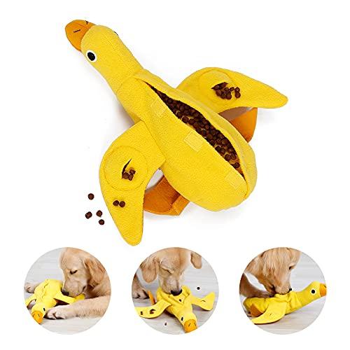 PEDOMUS Hundespielzeug Ente Hunde Spielzeug für Welpen kleine mittlere Hunde Haustiere Quietschspielzeug Plüschtiere…