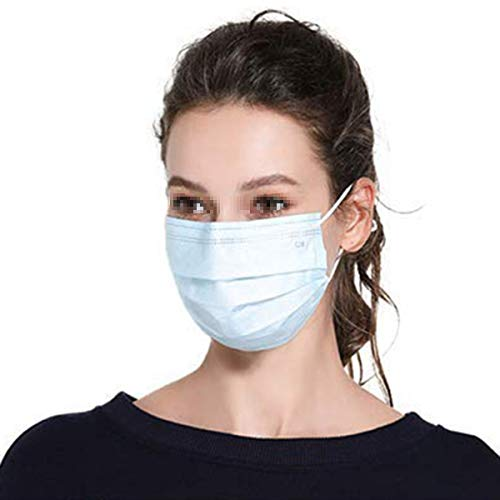 5 Pcs Charcoal Disposable Face Mask Carbon Filter Earloop Mouth Cover Anti Dust Face Mouth Masks Respirator Medical